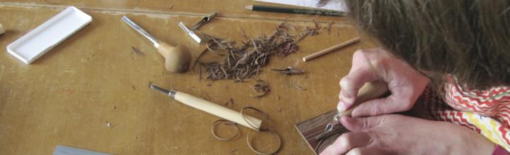 Workshop d'initiation à la linogravure à fond perdu