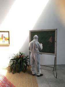 atelier graphINK, cours et stage de gravure, eau-forte, aquatinte, collagraphie, linogravure, pointe sèche, fabrique pola atelier ©blandine galtier